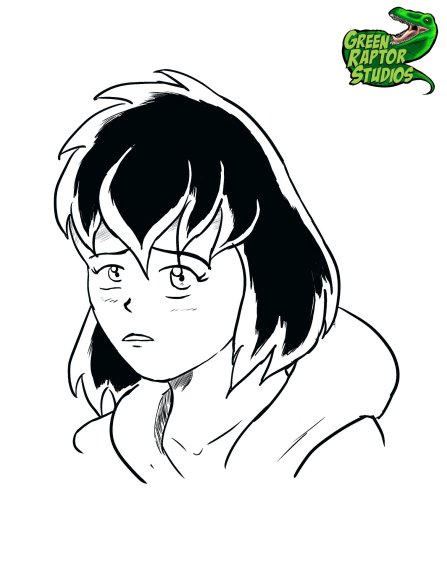 Short-Haired Kalwa sketch