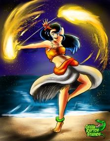 Kalwa Fire Dance