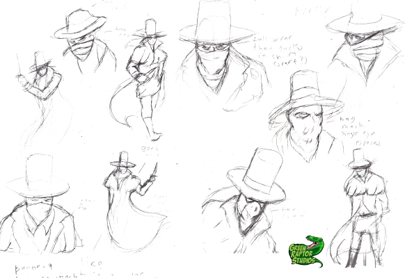 Jack the Ripper Sketches