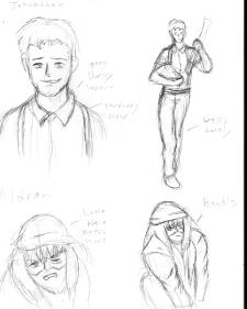 Whitechapel Character Sketches